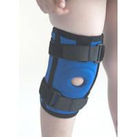 Бандаж (ортез) на колено неопреновый со спиральными ребрами жесткости детский Kids. Размер 1,2,3,4