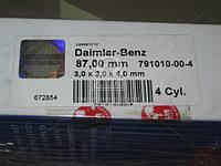 Кольца поршневые MB OM615 4 Cyl. 87,00 3,0 x 2,0 x 4,0 mm (Производство SM) 791010-00-4