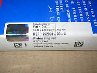 Кольца поршневые FIAT 2,8 TD 4 Cyl. 94,40 2,50 x 2,00 x 2,50 mm (производство SM) (арт. 792091-00-4), AGHZX