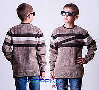 Шерстяной свитер на мальчика