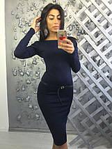 Шикарное платье с открытой спиной Бежевое, фото 3
