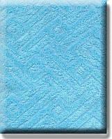 Махровое полотенце 50*70, 100% хлопок, Туркменистан, нежно-голубое