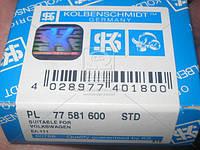 Вкладыши шатунные VAG STD 1,8 20V/2,0 FSi/TFSi 16V (Производство KS) 77581600