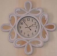 Интерьерные зеркальные настенные часы (51х51х5 см.)