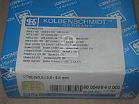Кольца поршневые PSA 85,00 2,0HDi/2,2HDi DW10/DW12 3,5x2x3 (Производство KS) 800045910000