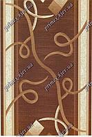 """Ковровая дорожка Кадиллак """"Злата"""", цвет коричневый"""