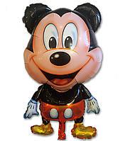 Фольгированный воздушный шарик Микки Маус 80 х 54 см.