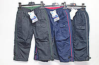 Утепленные штаны из плащевки на флисе для мальчика