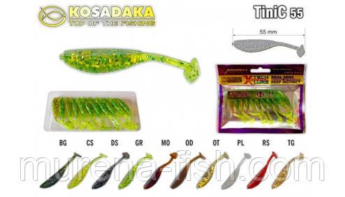 Kosadaka TiNiC 55 DS силиконовая съедобная приманка, фото 2