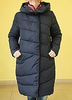 Куртка зимняя женская Assener 8016-47 синяя  код 2060А