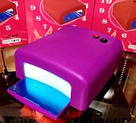 Ультрафиолетовая лампа 36 w,с таймером на 120 секунд и режимом бесконечности