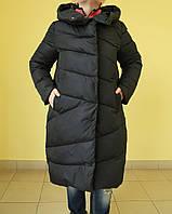 Куртка зимняя женская Assener 8016-47 черная  код 2061А