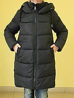 Куртка зимняя женская Assener 8015 черная код 2062А