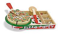 """Деревянный набор """"Пицца"""", Melissa&Doug"""