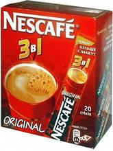 Кофейный напиток Nescafe Original 3 в 1 ,20 пак