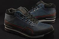 Кожаные зимние спортивные ботинки