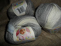 Alize Baby Wool Batik  (Ализе беби вул батик) 4692