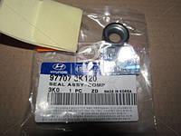 Сальник компрессора кондиционера (производство Mobis) (арт. 977073K120), AEHZX