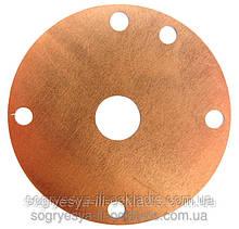 Мембрана Каре мідна діаметр 40 мм (б.ф.у, EU) котлів газових, арт. 00051, к. з. 0341/2