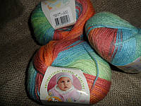 Alize Baby Wool Batik  (Ализе беби вул батик) 3611