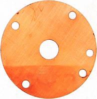 Мембрана Каре (медная) (диаметр 40 мм, пр-во Китай), код сайта 0342