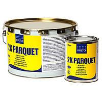 Двухкомпонентный полиуретановый клей для паркета Kiilto 2К Parquet / 5,55 кг
