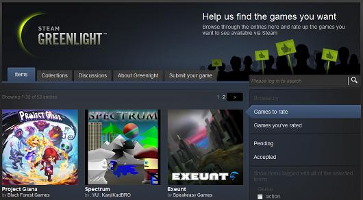 Greenlight Steam Valve