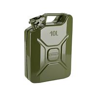 Канистра металлическая для ГСМ на 10 литров