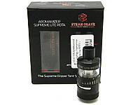 Обслуживаемый атомайзер, Steam Crave Aromamizer Supreme Lite RDTA, 2 мл + 5 мл. черный