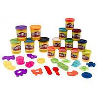 Play-Doh Набор пластилина Цветная гора 15 цветов Mountain of Colors Super Set