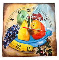 Часы в кухню на стену Фрукты