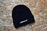 Стильная мужская шапка адидас,Adidas черная