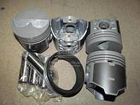 Поршень цилиндра ВАЗ 2105 d=79,0группа A (комплект на двигатель) (Black Edition+п.п+п.к кольца) (МД Кострома)