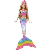 Кукла Barbie Русалочка Яркие огоньки Mattel DHC40