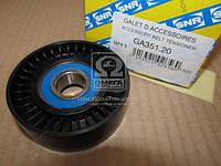 Ролик приводного ремня MERCEDES-BENZ 1662020819 (Производство NTN-SNR) GA351.20