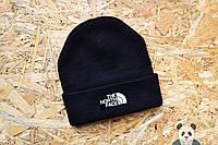 Молодежная шапка мужская The North Face Beanie черная
