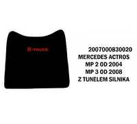 Коврики велюровые середина MERCEDES ACTROS MP II от 2004, MP III от 2008 с выступом двигуна