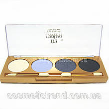 Тіні для повік 4 кольори з аплікатором Malva cosmetics M403 08 (розпродаж)