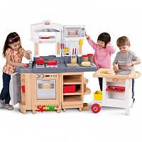 Детская интерактивная игровая кухня с тележкой Little Tikes 484230