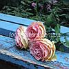 "Мастер-класс ""Роза ""Эден Роуз"" из зефирного фоамирана."