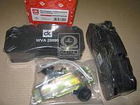 Колодка тормозная дисковая (комплект на ось) BPW, IVECO, MAN 2000,TGM, MB ATEGO, SAF  DK 29095PRO