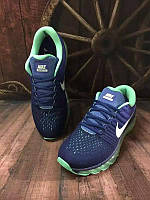 Кроссовки мужские Nike Air max 2017 фиолетово-бирюзовые , фото 1