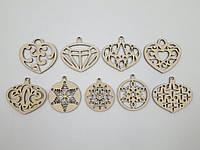 Набор елочных украшений (9 фигурок)