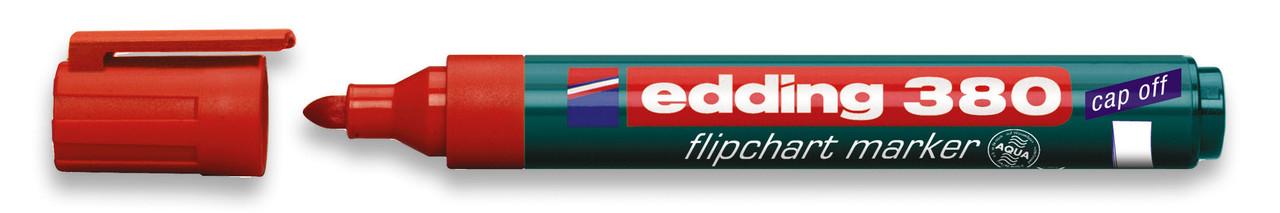 Маркер для флипчарта красный edding e-380