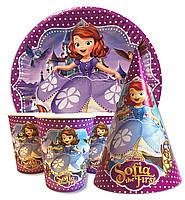 Набор для детского дня рождения. Принцесса София