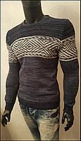 Зимний свитер мужской
