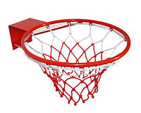 Кольцо баскетбольное 46 см с сеткой