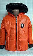 Детская куртка для девочки двусторонняя