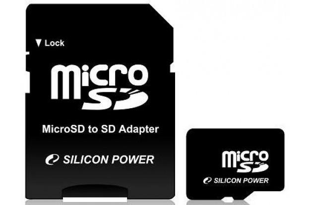 Карта памяти Silicon Power MicroSDHC 16GB+SD adapter (class 4)