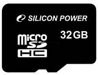 Карта памяти Silicon Power MicroSDHC 32GB Class 4 (card only)
